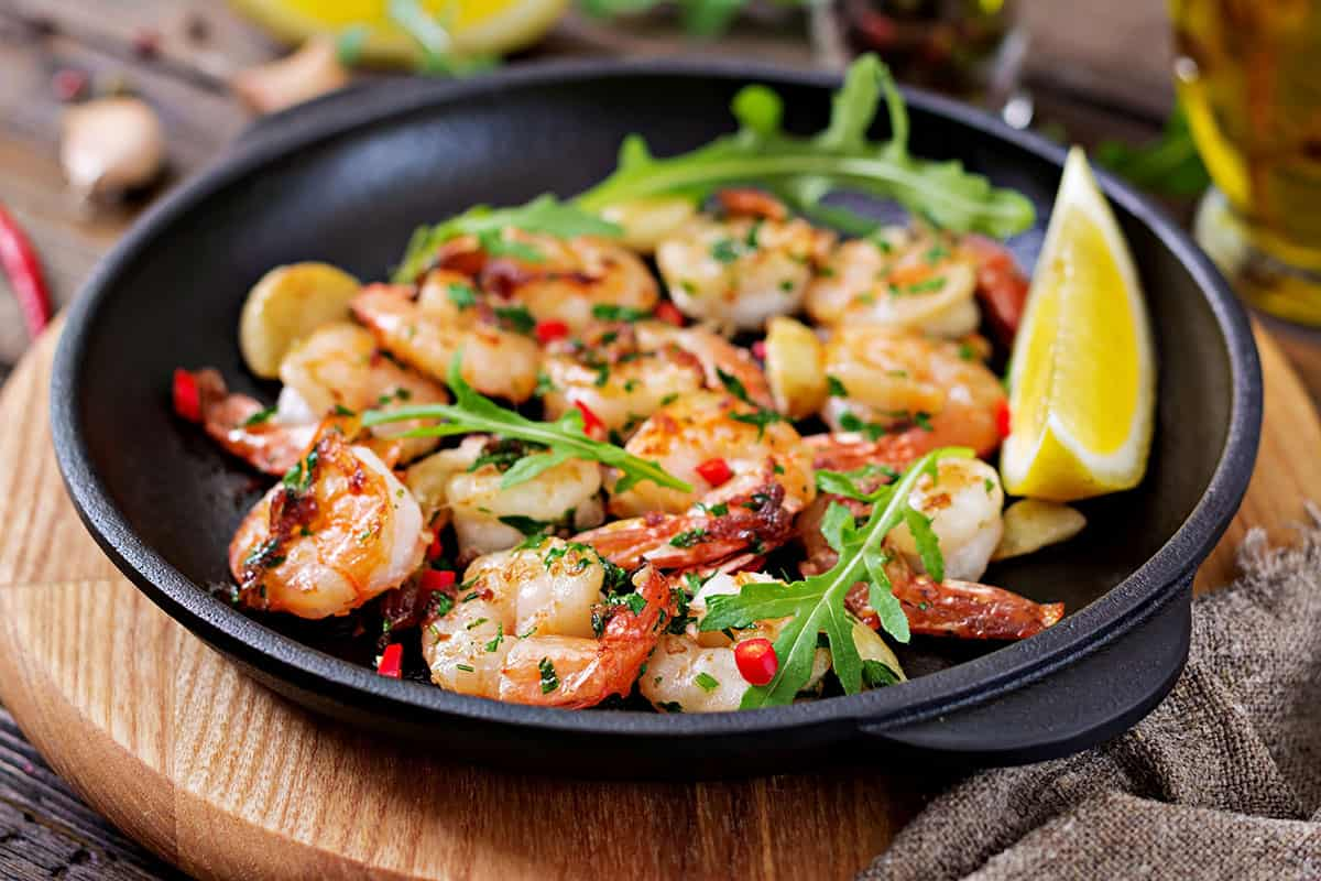 Amazing Grilled Garlic Butter Shrimp Recipe