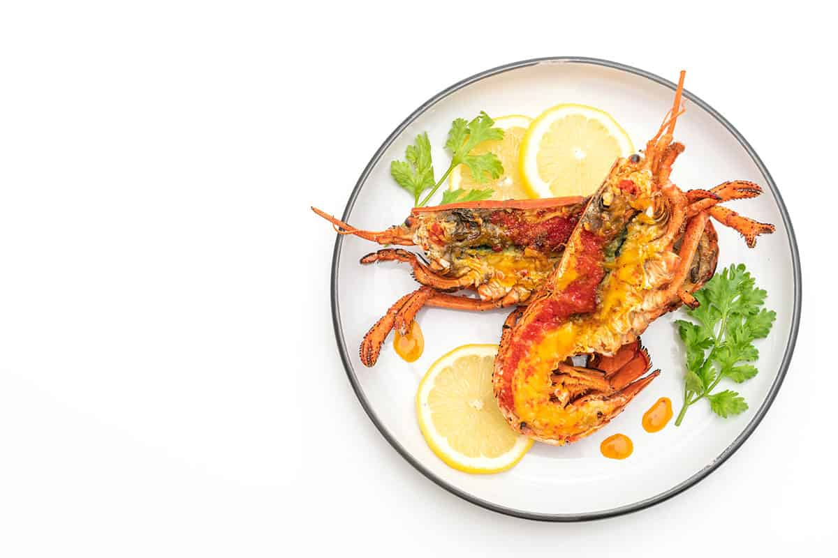 Grilled Lobster With Lemon And Herbs Recipe