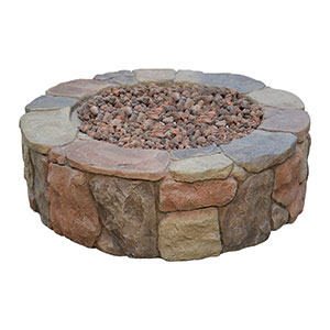 Bond 67456 Pinyon Gas Stone Look Fire Pit Review
