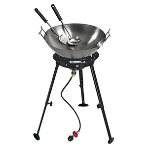 Eastman Outdoors 37212 Outdoor Gourmet 22 Inch Carbon Steel Wok Kit Review
