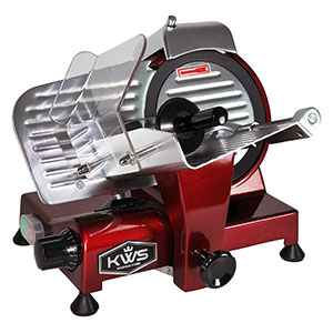 KWS MS-10XT Premium Commercial 320W Electric Meat Slicer Review