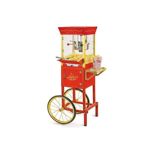 Nostalgia Concession CCP510 Vintage Professional Popcorn Cart-New 8-Ounce