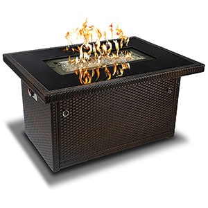 Outland Living Series 401 Brown 44-Inch Outdoor Propane Gas Fire Pit Table Review