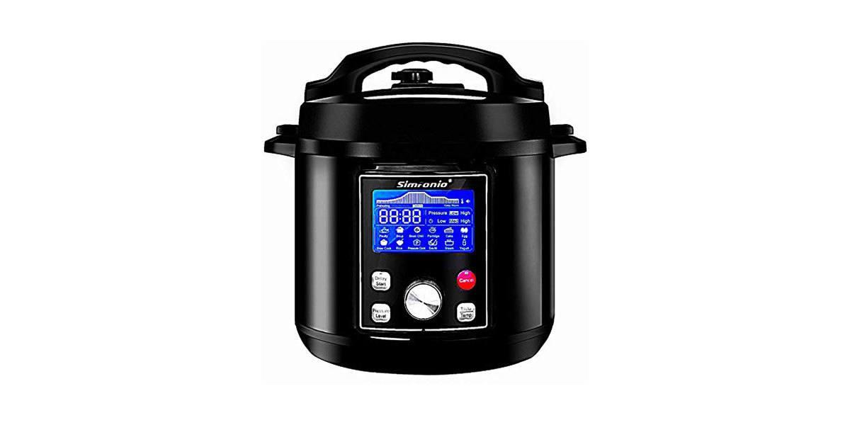 Simfonio Electric Pressure Cooker 8Qt Review