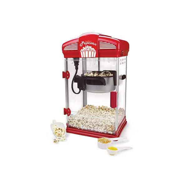 West Bend 82515 Hot Theater Style Popper Machine with Nonstick Kettle