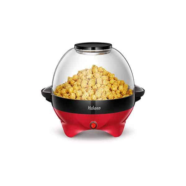 Yabano Popcorn Machine, 6-Quart Popcorn Popper Maker