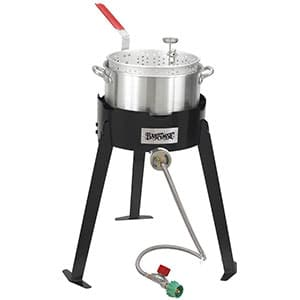 Bayou Classic 2212 Outdoor Fish Fryer Cooker Set Review