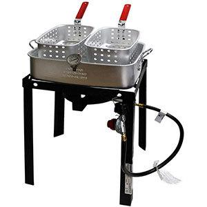 CHARD TBAPF-18 Dual Fryer Basket Cooker Review