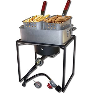 "King Kooker Propane 1618 Outdoor Cooker - 16"" inch Review"