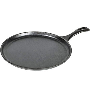 Lodge 17L9OG3 Griddle Cast Iron, 10.5 Inch Review