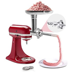 Metal Food Grinder Attachment for KitchenAid Stand Mixers Review